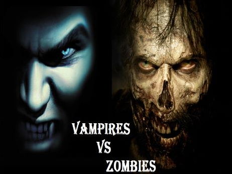 NEW AQA GCSE English Language - Paper 2 (Ofsted Lesson): Vampires vs Zombies!