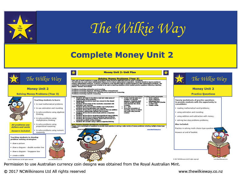 Y3 Money Problem Solving Bundle