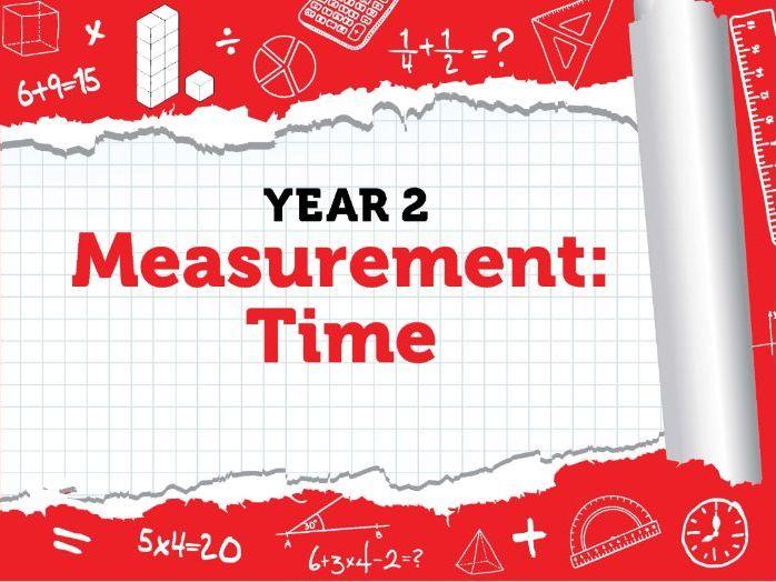 Year 2 - Measurement - Time - Week 6  - Summer - Block 3 - White Rose
