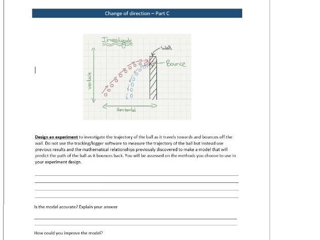 Modeling - Rebounding ball - Part C