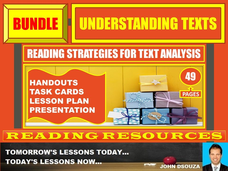 READING TO UNDERSTAND DIFFICULT TEXTS BUNDLE