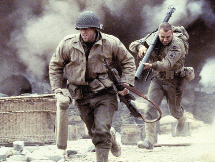 Saving Private Ryan Screen Shots for Y9 Creative Writing