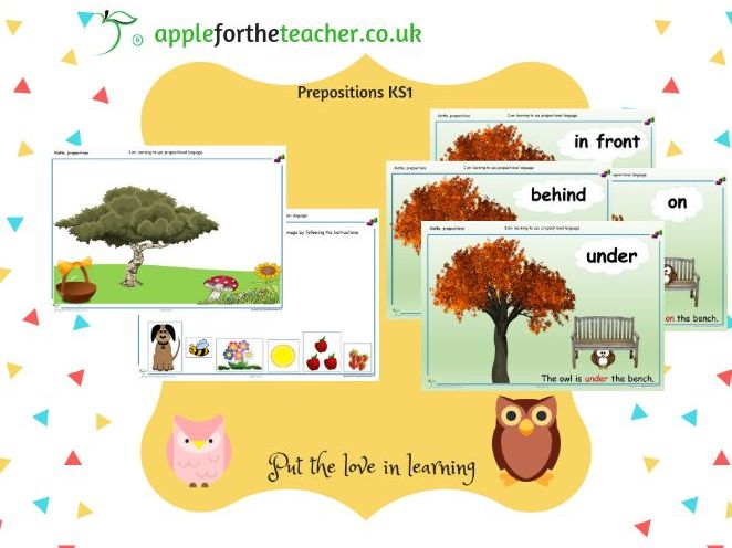 Prepositional Language EYFS KS1