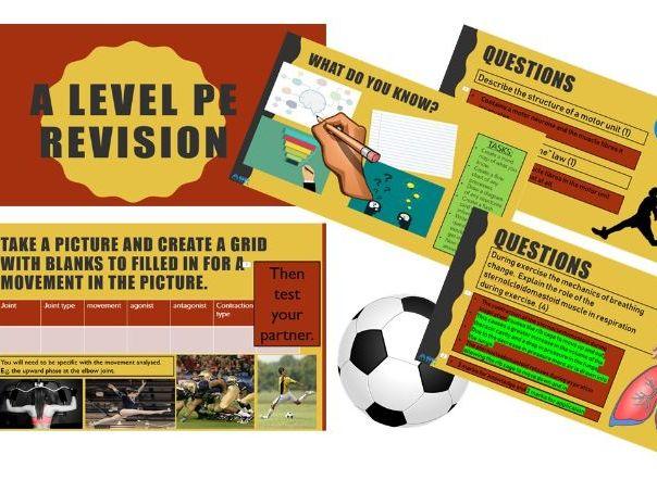 A Level PE Revision