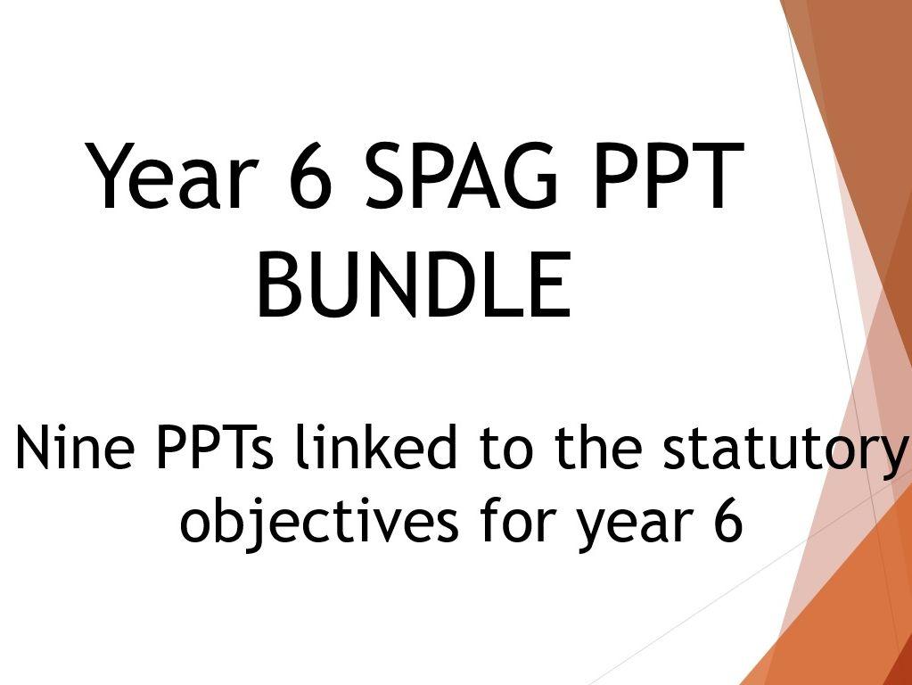 Year 6 SPAG Bundle