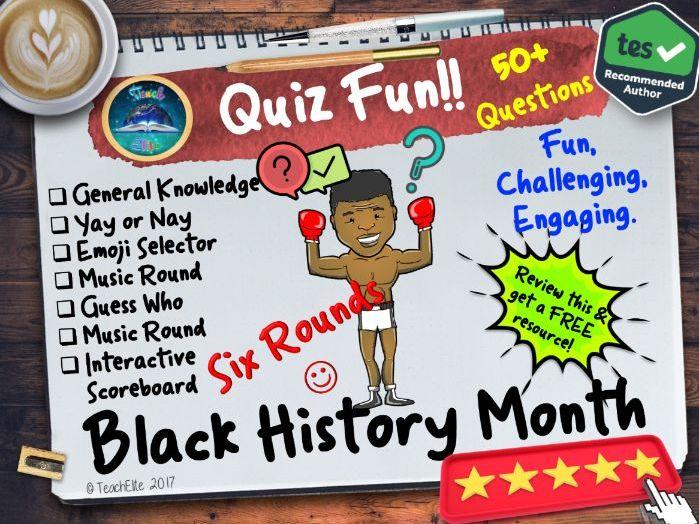 Black History Month: Black History Month Quiz