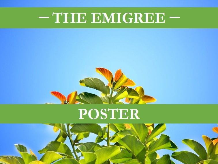 The Emigree Poster
