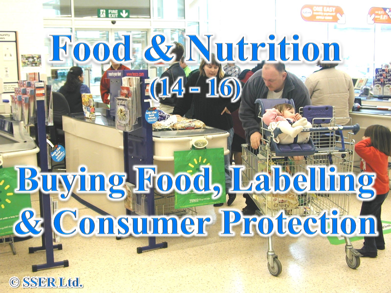 4.2 Buying Food, Food Labelling & Consumer Protection