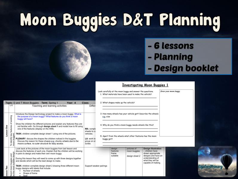 MOON BUGGY Design & Technology Unit - 6 Lessons