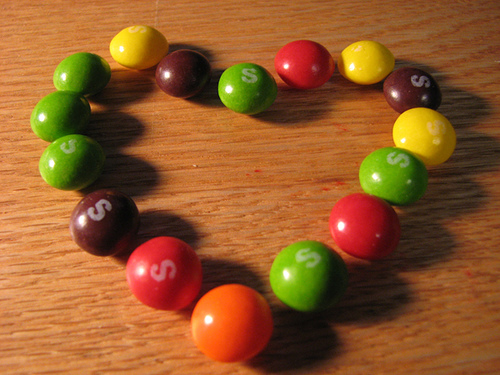 Modelling half life with Skittles