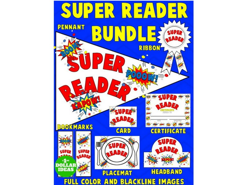 SUPER READER BUNDLE | WHITE