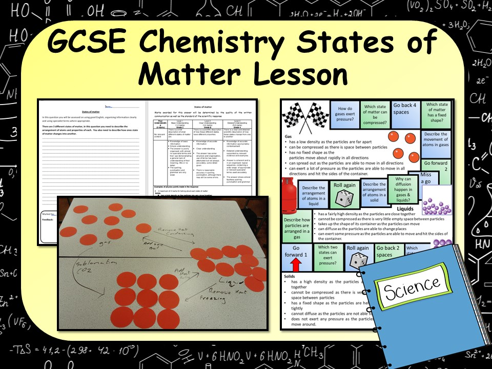 New KS4 GCSE Chemistry (Science) States of Matter Lesson