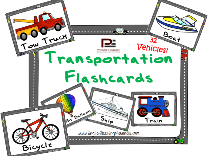 Transportation Flashcards