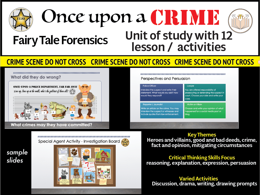 Fairytale Forensics Learning Unit