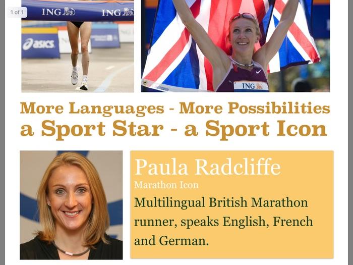 MFL poster 4 - Paula Radcliffe