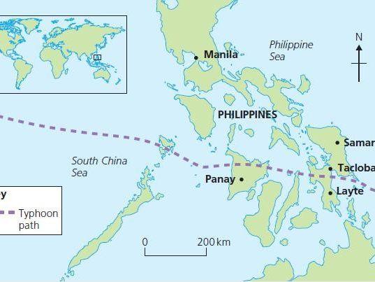 GCSE case study - Typhoon Haiyan