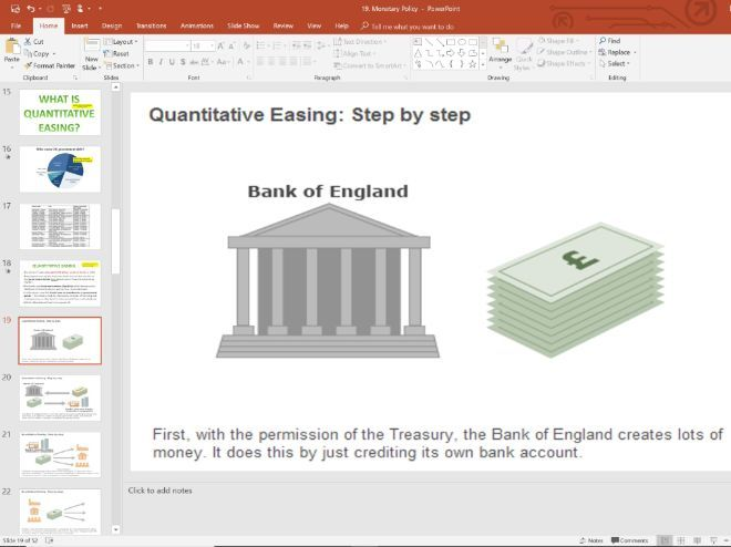 19. Monetary Policy (Slides, Activities and Notes) - Edexcel A-Level Economics - Theme 2