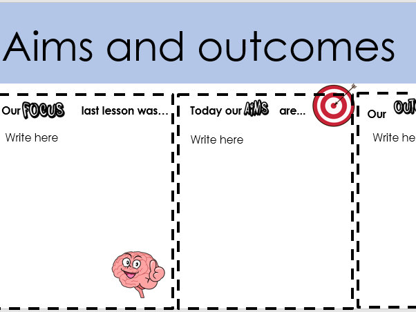 Lesson templates, Starters and Plenaries for  teaching and learning activities