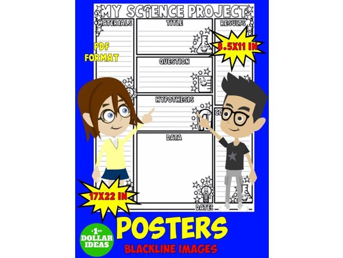 SCIENCE FAIR BOARD | SCIENCE FAIR PROJECT | POSTER