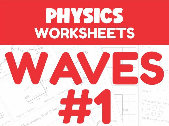 Waves Revision Worksheets #1 (Home Learning Support)
