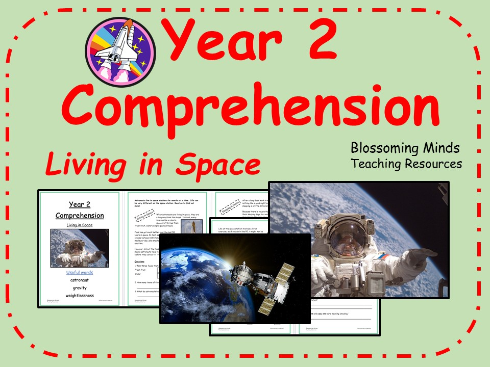 Year 2 World Space Week Comprehension