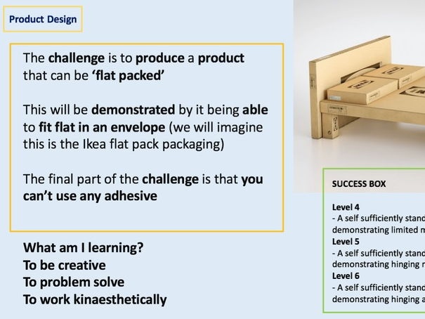 Product Design - Ikea Flat Pack Furniture Project
