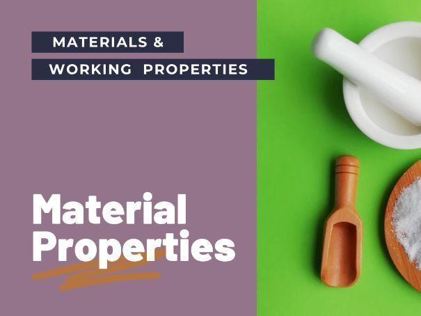 Material properties - PPT GCSE DT