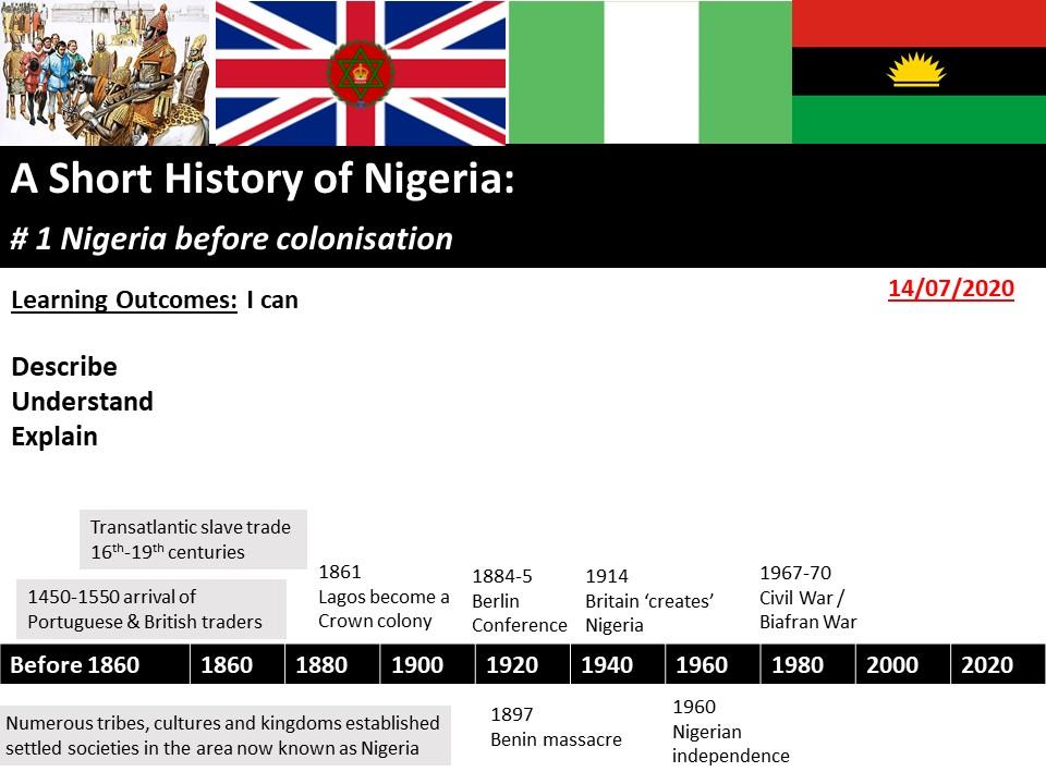 A short history of Nigeria