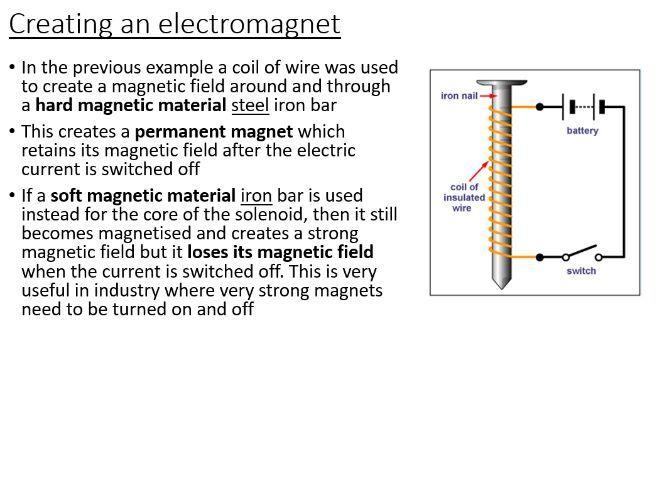 iGCSE Physics - Magnetising (PowerPoint)