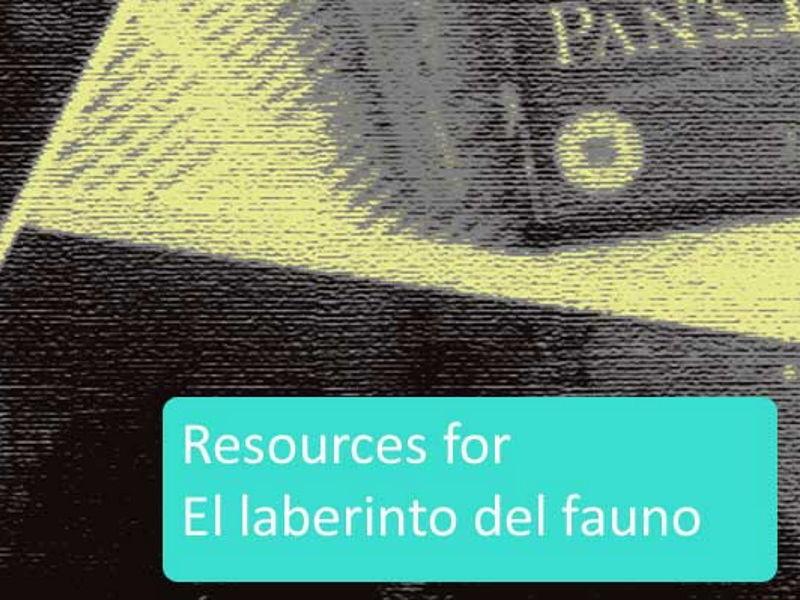 El laberinto del fauno-comprehensive resources