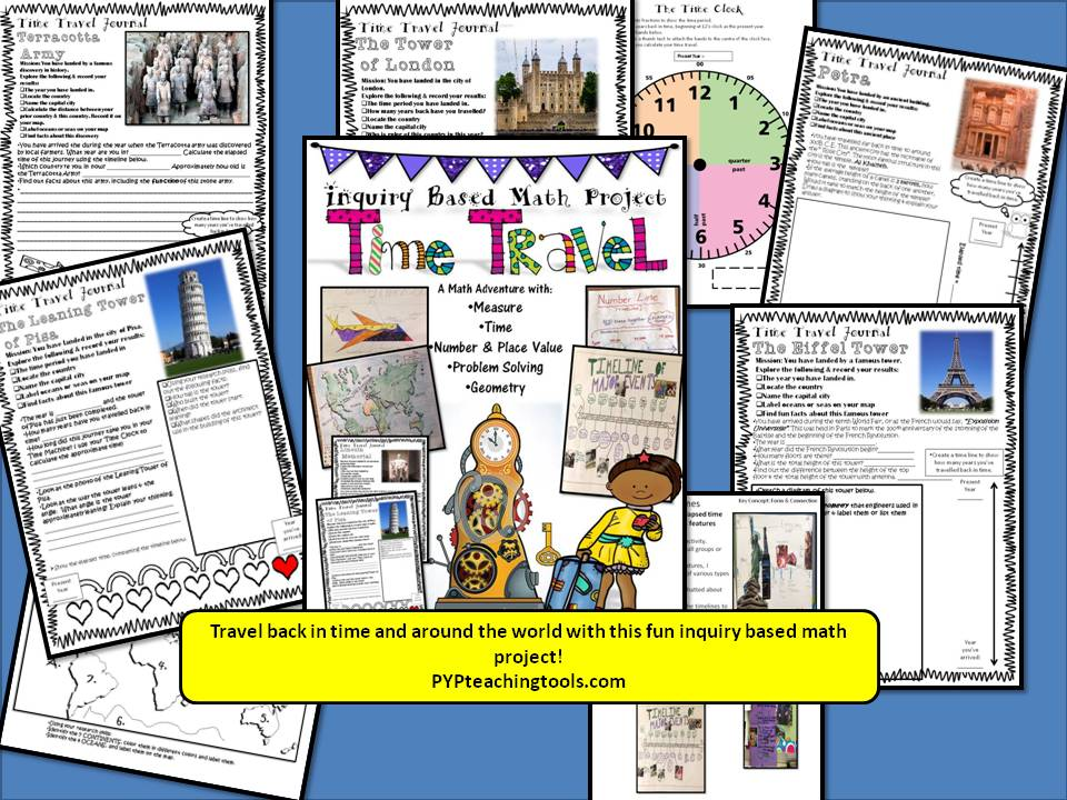 Time Travel! An Inquiry Based Maths Adventure