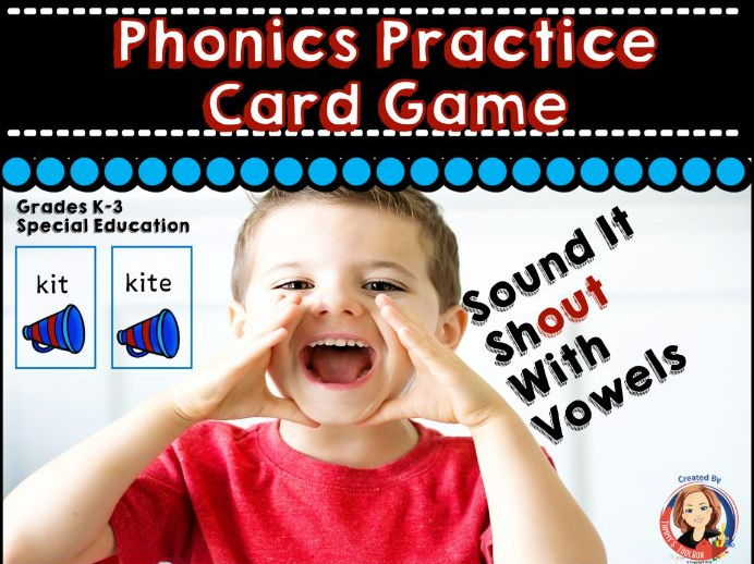 Phonics Game for Long and Short Vowel Sounds