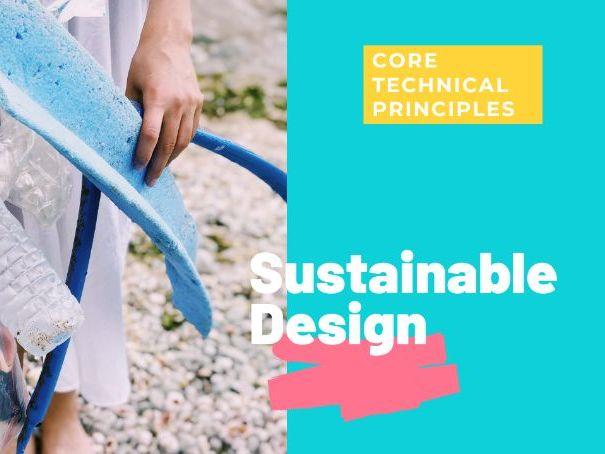 Sustainability - Worksheets GCSE DT