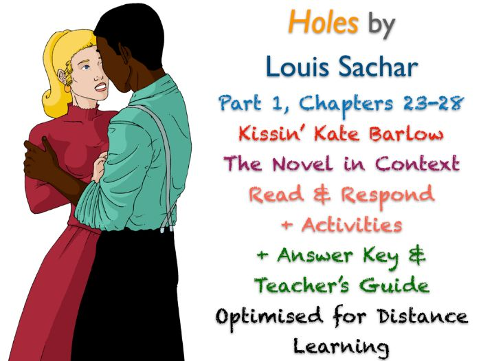 Holes (Louis Sachar) Ch. 23-28 - Kissin' Kate Barlow - ACTIVITIES + ANSWERS