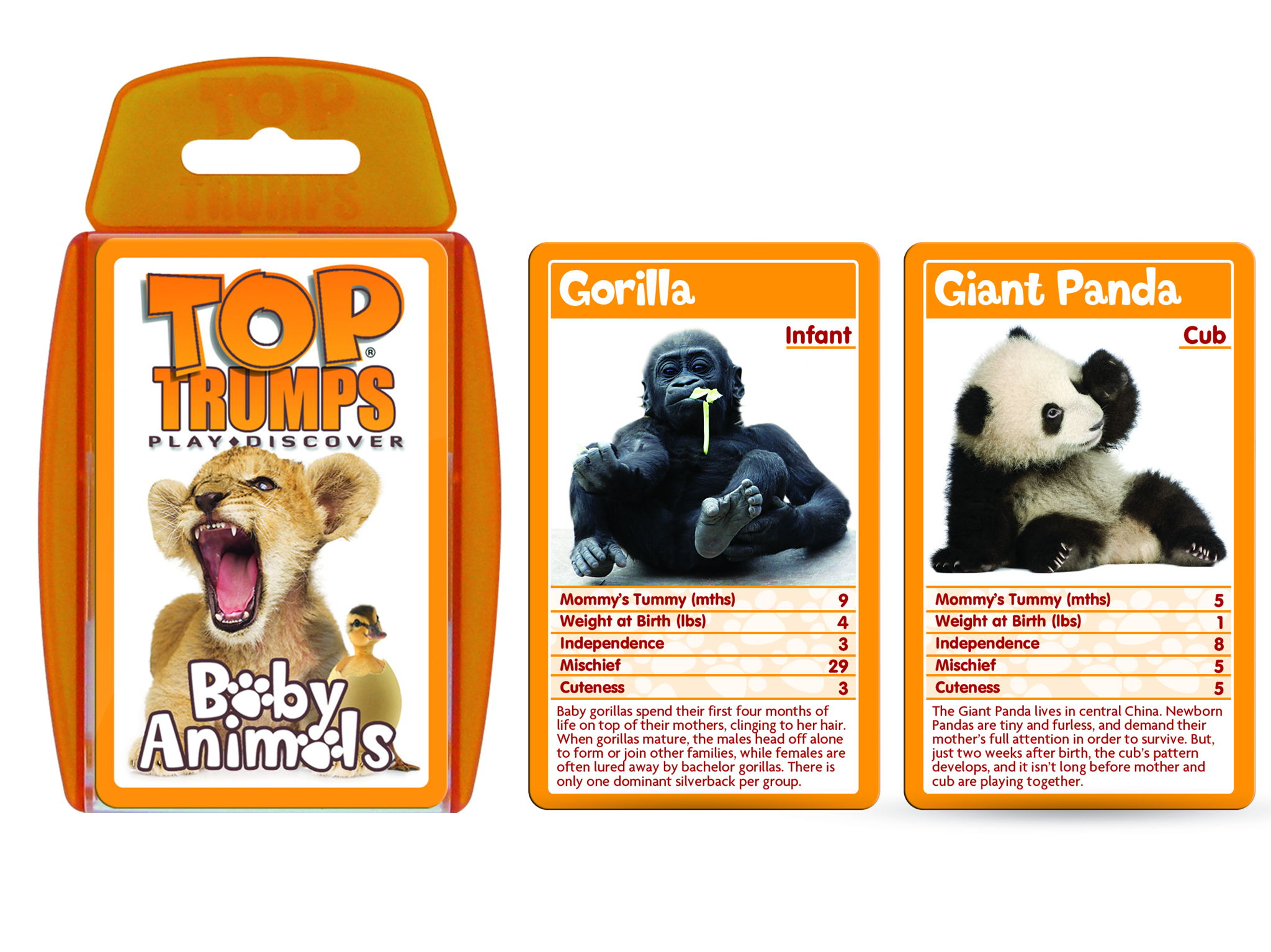 Official Baby Animals Top Trumps