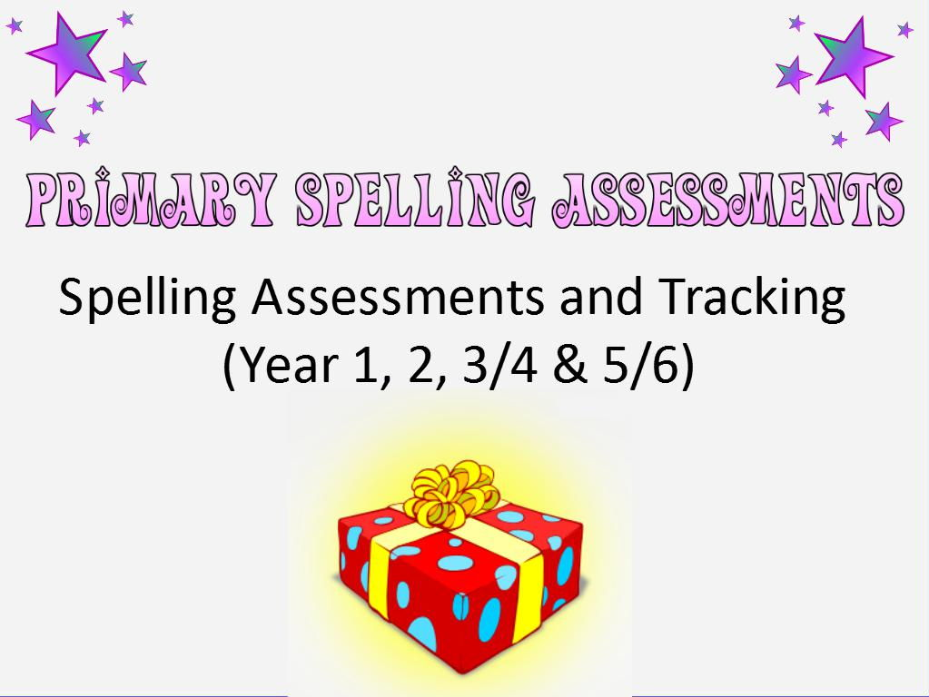 Primary Spelling Assessments