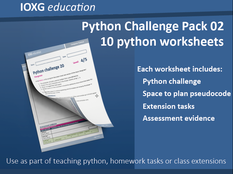 Python Challenge Pack 02