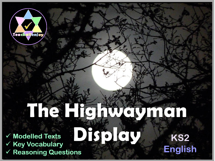 The Highwayman Display KS2