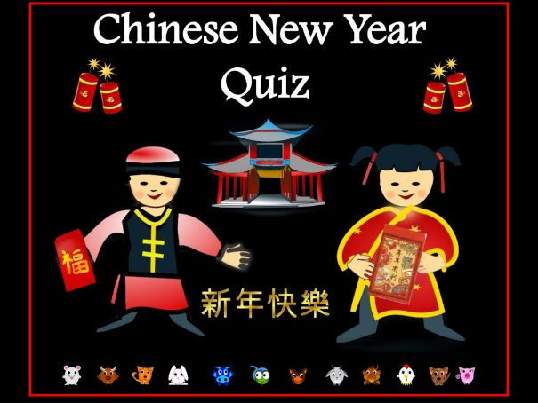 Chinese New Year - Interactive Quiz