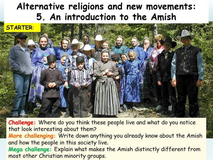 Amish : Introduction to The Amish