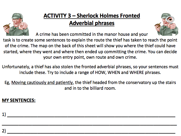 Fronted Adverbial Lesson