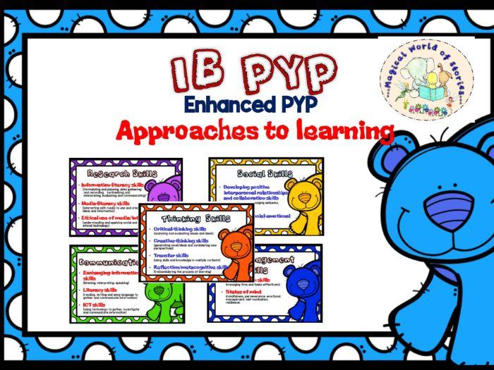 ATL Skills Enhanced IB PYP