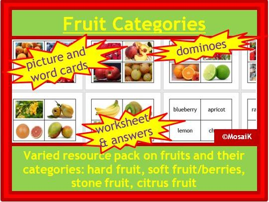 Food Technology, Healthy Lifestyle, Health: Know your fruit and fruit categories