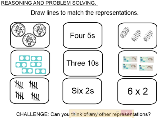 KS1 Block 1,2, 3 and 4  Resources following order of White Rose Maths (WRMaths)