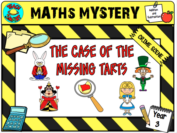 The Case of the Missing Tarts Grade 2 Maths Mystery