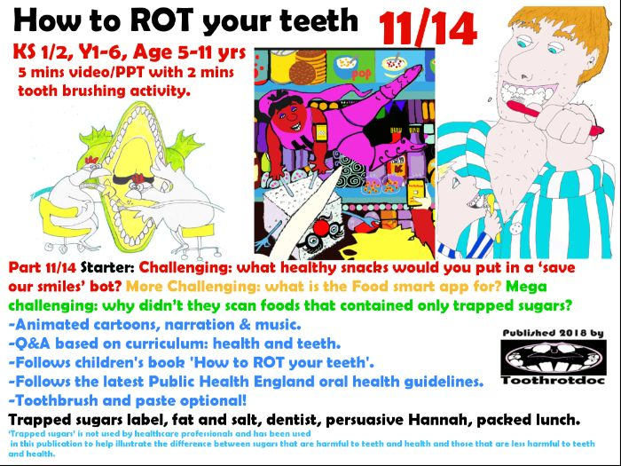 11/14 two minute tooth brushing animated ppt