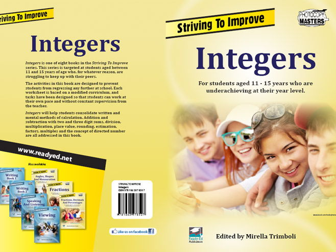 Striving to Improve Series: Integers (Australian E-book for students at risk)