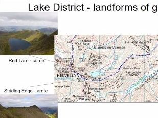 AQA GCSE Geography Case Study - glacial landforms