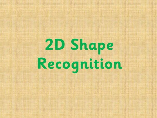 2D Shape Recognition