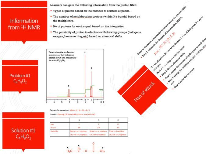 10 Proton NMR Questions with Solutions